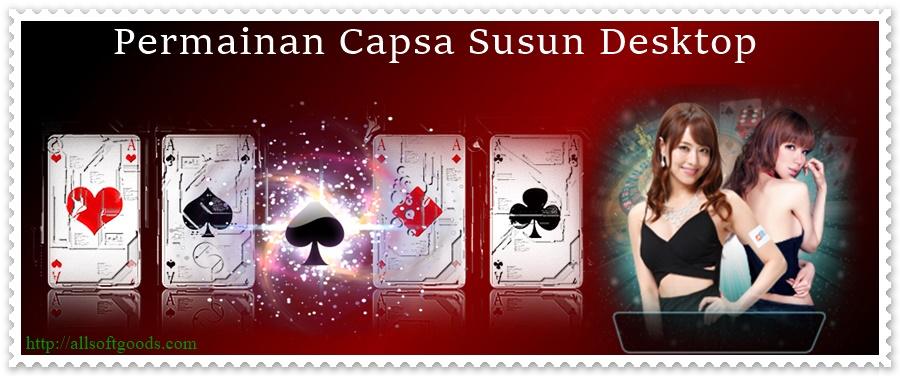 Permainan Capsa Susun Desktop